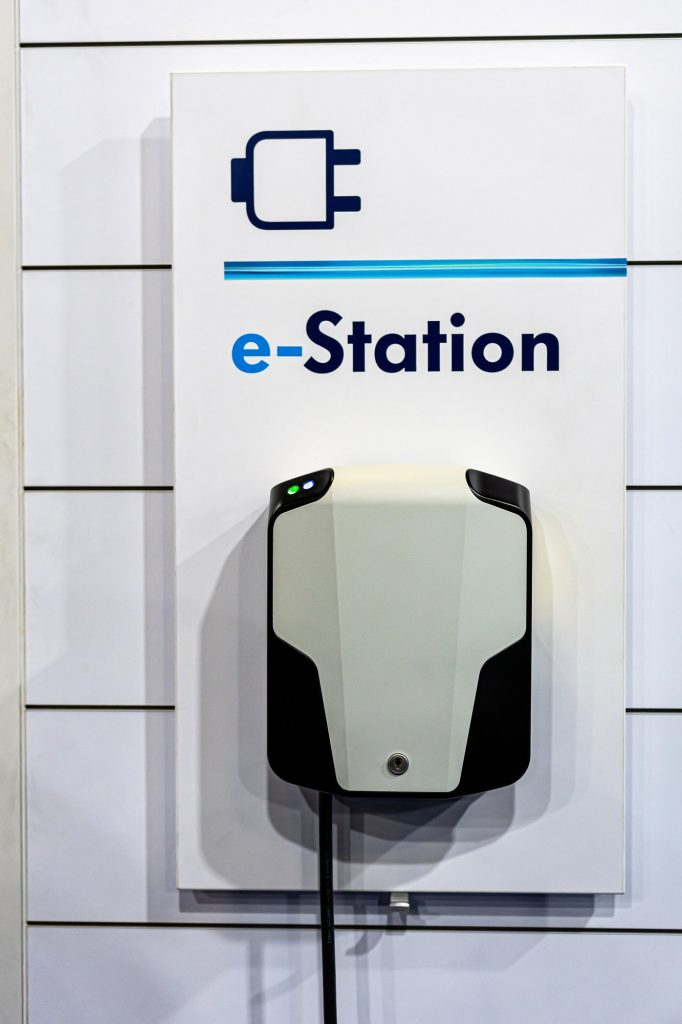 electric car charging station, battery hybrid vehicle eco charger, future energy power